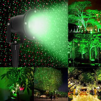 12V Waterproof  Laser Stage Light Lamp Flying Firefly Light Projector For Christmas Party