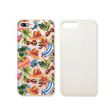 Tropical Summer Beach Slim Iphone 7 Case, Clear Iphone Hard Cover Case For Apple Iphone 7 Emerishop (iphone 7)