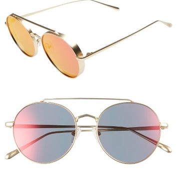 Bonnie Clyde Olympic 53mm Polarized Aviator Sunglasses | Nordstrom
