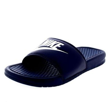 ONETOW Nike Unisex Flip Flops Benassi JDI Slide Pool Slippers Beach Sandals Slip On