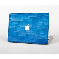 The Vivid Blue Techno Lines Skin for the Apple MacBook Air 13""