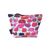 Messy Lips T Bottom Cosmetic Bag