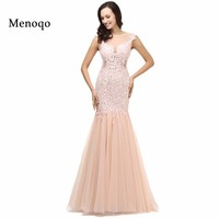 Real Images Sexy Lace Long Elegant Mermaid Prom Dresses 2017 Evening Dress for Prom festa vestidos de para festa formatura longo