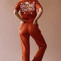 Ground Control Coveralls ~ Rust