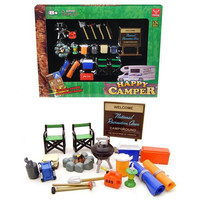 Camper Accessories Set For 1-24 Diecast Car Models by Phoenix Toys