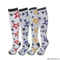 ALL-STAR SPORT SOCKS-RED-ROYAL-GOLD-PURPLE