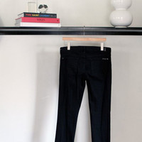 7 For All Mankind Black Bootcut Jeans