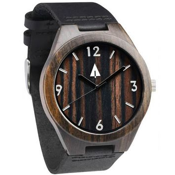 Wooden Watch // Ebony 34