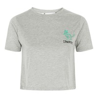 Embroidered 'Dino-Mite' Tee by Tee and Cake - Clothing Brands - Brands