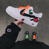 NIKE/GUCCI Air Force1 Men's Skate shoes