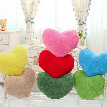 Popular Cute Love Simple Cushion Pillow Cushion Sofa Cushions Pillow Love Valentine's Day Heart Pillow