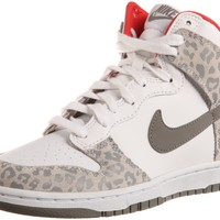 WMNS NIKE DUNK HIGH SKINNY WHITE/SUNBURST//MEDIUM GREY 429984-102:Amazon:Shoes