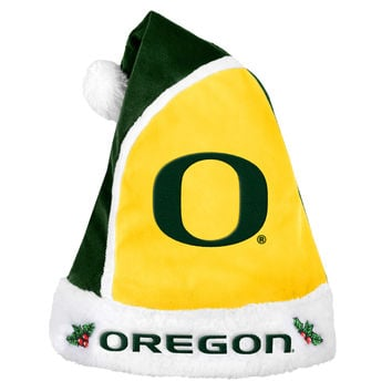 Oregon Ducks Basic Santa Hat - 2015