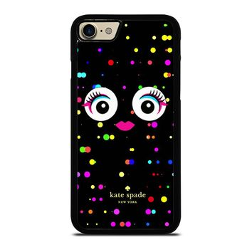 KATE SPADE COLORFULL MONSTER EYE iPhone 4/4S 5/5S/SE 5C 6/6S 7 8 Plus X Case
