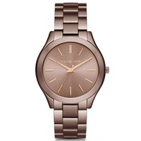 Slim Runway Sable-Tone Watch | Michael Kors