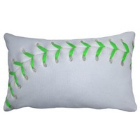 Bright Green Stitches Baseball / Softball