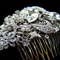 Hair Comb Weddings Accessories Hair Jewelry by nyjolejewellery