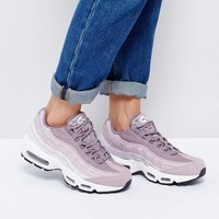 Nike Premium Air Max 95 Trainers In Purple at asos.com