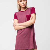 FULL TILT Ringer T-Shirt Dress | Short Dresses