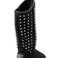 Australia Luxe Collective Pistol Tall Boot with Sheep Shearling in Black from REVOLVEclothing.com
