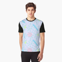'80s Neon 2' Graphic T-Shirt by ChessJess
