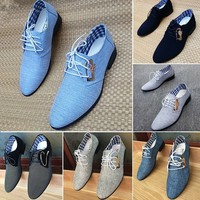 2017  new breathable leather shoes men's business casual shoes fashion shoes men's shoes
