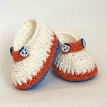Crochet Baby  sandals, crochet baby shoes for girls, boys. Crochet Baby Girl Booties Size 3 to 12 months