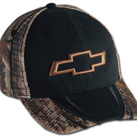 Chevrolet 3-D Bowtie Realtree Mesh Cap-Chevy Mall