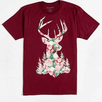 Stag Floral Tee