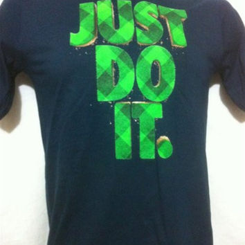 Nike Boys' Just Do It Fill Baseball TD T-shirt (SMALL)