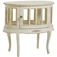 Bonne Nuit Display Table In Versailles Finish : Nightstands at PoshTots