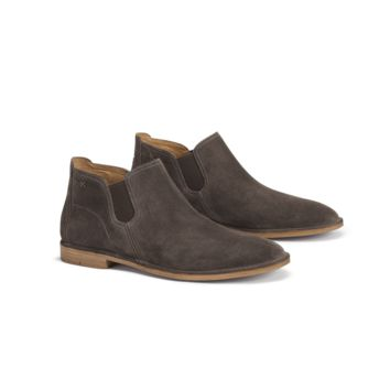 Allison Boot in Grey Suede by Trask
