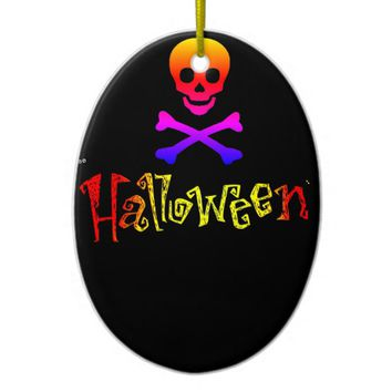 Halloween Ceramic Ornament