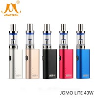 Russian Free Shipping 0.5ohm Tank Electronic Cigarette Mod Kit 2200mAh Vape Mod 5 Language Manual New Lite 40w Ecig Mod Jomo-02