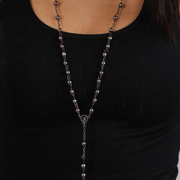 The Classic Rosary in Hematite