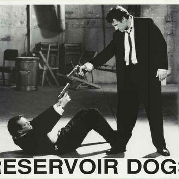Reservoir Dogs Stand-Off Movie Poster 25x33