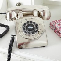 Retro Chrome Telephone