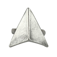 Triangular Silver Ring