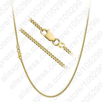 Patico Trendy Acrylic Yellow Gold Link Chain For Men C19