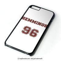 Luke Hemmings Shirt 5Sos Tshirt Hemmings 96 iPhone 4 4S 5 5S 5C 6 6 Plus , iPod 4 5  , Samsung Galaxy S3 S4 S5 Note 3 Note 4 , and HTC One X M7 M8 Case