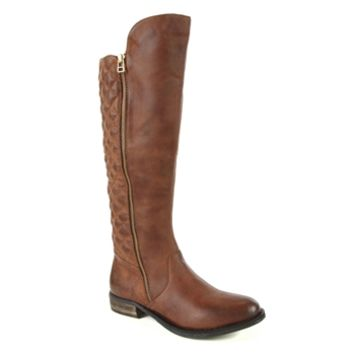 Steve Madden Northsde Tall Leather Boot at Von Maur
