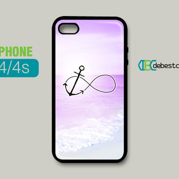 Anchor Infinity iPhone Cases