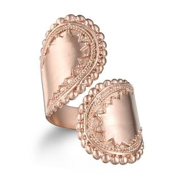 Encompass Paisley Wrap Ring - Rose Gold