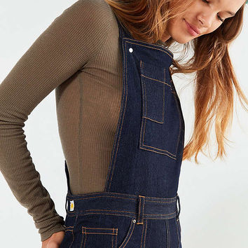 LF Markey Fitted Denim Flare Overall | Urban Outfitters