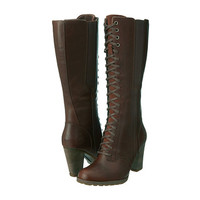 Timberland Earthkeepers® Stratham Heights Tall Lace Waterproof Boot Glazed Ginger - 6pm.com
