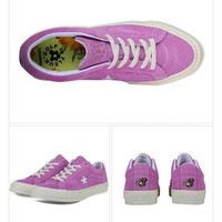 Best Deal Online Nike Converse One Star x Golf le Fleur 159434C Purple Men Women Sneak