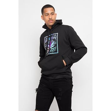 Iridescent High Life Fleece Pullover Hoodie