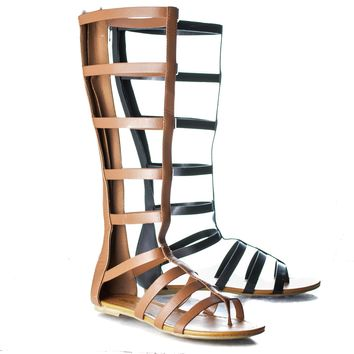 Bappy - Knee High Gladiator Sandal