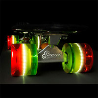Sunset Skateboards Flare Led Skateboard Wheels Rasta One Size For Men 25865594701