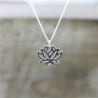 Stylish Jewelry Gift New Arrival Shiny Pendant Accessory Hot Sale Yoga Chain Necklace [11163080468]